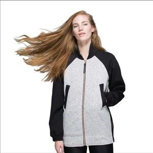 Lululemon both ways reversible bomber